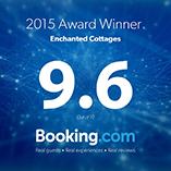 Booking.com 9.6 Rating!